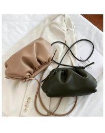 Дамска чанта в маслено зелено - код B13