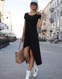 Свободна рокля в черно - код 5507