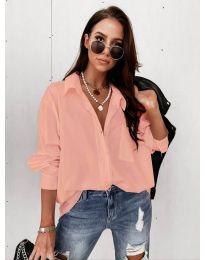 Дамска риза в розово  - код 8304