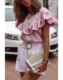 Дамска блуза в розово - код 753