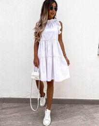 Феерична рокля в бяло - код 2663