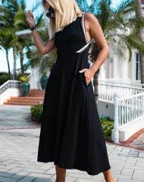 Дамска рокля в черно - код 70511
