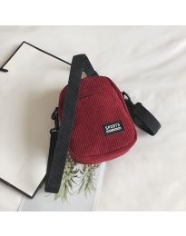 Дамска чанта в  бордо - код B73