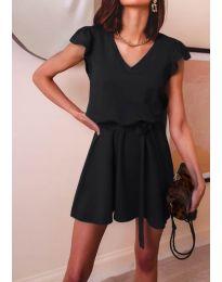 Изчистена рокля в черно - код 5551