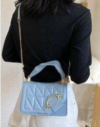 Дамска чанта в синьо - код B445