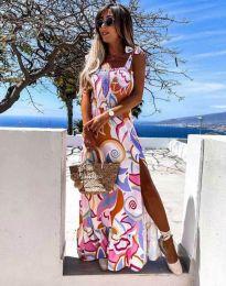Дамска рокля с атрактивен мотив - 0583 - 2