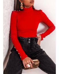 Дамска блуза в червено - код 11514