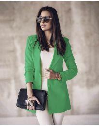 Дамско сако в зелено - код 5957