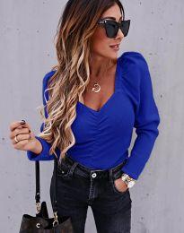 Дамска блуза в синьо - код 394