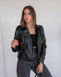 Дамско яке в черно - код 2872