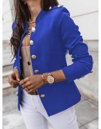 Сако с копчета в синьо - код 5566