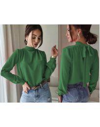 Дамска блуза в зелено - код 833