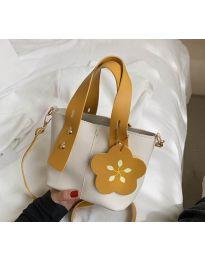 Дамска чанта в цвят бяло - код B502