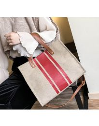 Дамска чанта в бежово - код B103 - 5