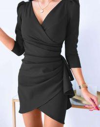Елегантна рокля в черно - код 32897