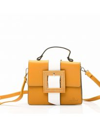 Дамска чанта в цвят горчица - OY1210