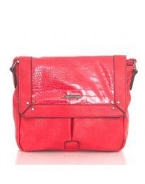 Дамска чанта в червено - код  Y81914-1