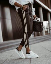 Дамски панталон в черно - код 8788