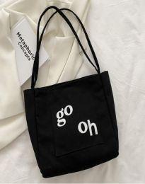 Дамска чанта в черно - код B579