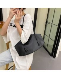 Атрактивна дамска чанта в черно - код B508