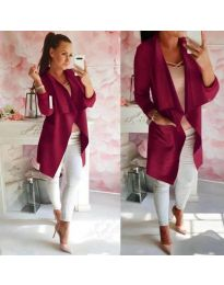 Дамско сако в бордо - код 310