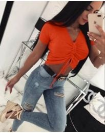 Тениска - код 042 - оранжево