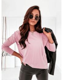 Дамска блуза в розово - код 5582