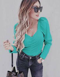 Дамска блуза в мента  - код 394