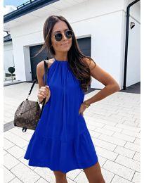 Феерична рокля в синьо - код 632