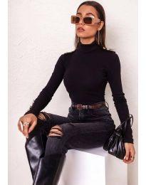 Дамска блуза в черно - код 11514