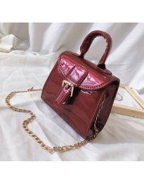 Дамска чанта в бордо - код B140