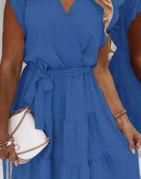 Дамска рокля в синьо - код 2345