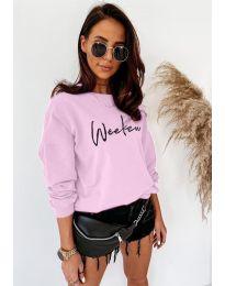 Дамска блуза в розово- код 917