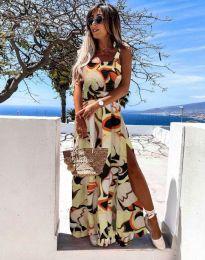 Дамска рокля с атрактивен мотив - 0583 - 1