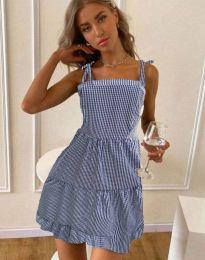 Свободна рокля в тъмносиньо - код 0316