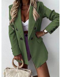 Елегантно дамско сако в зелено - код 815