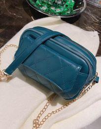 Дамска чанта в синьо - код B331