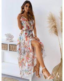 Феерична  рокля в бяло - код 0051