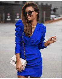 Елегантна рокля в синьо - код 870
