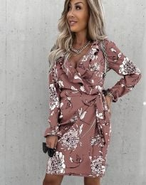 Елегантна дамска рокля - код 2937 - 4