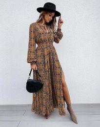 Ефектна дамска рокля - код 5194 - 1