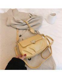 Дамска чанта в жълто - код B81