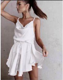 Феерична рокля в бяло - код 660