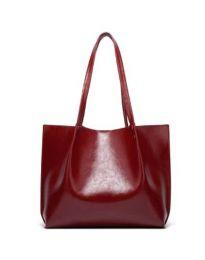 Дамска чанта в бордо - код B55