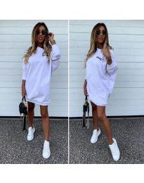 Спортна рокля в бяло - 322
