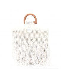 Дамска чанта в бяло  - код MS-3001