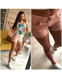 Къси панталонки в розово - код 735 S