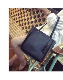 Дамска чанта в черно - код B7