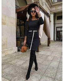 Дамска рокля в  черно - код 5190
