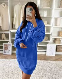 Спортна рокля в синьо - код 2949